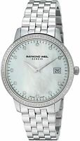 Raymond Weil Women's Toccata Quartz Stainless Steel Swiss Watch 5388-STS-97081