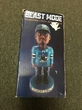 San Jose Sharks Marshawn Lynch Bobblehead SGA Beast Mode Raiders