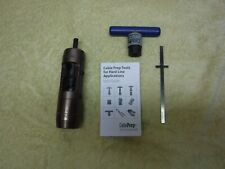 Cable Prep Raio-875 All In One Stripping & Coring Tool w/ Ratcheting T Handle