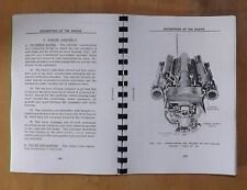 Packard Marine Engine .4M 2500. Manual de operación.