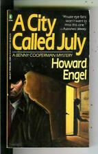A CITY CALLED JULY by Engel, Penguin Select #04554 crime PI pulp vintage pb