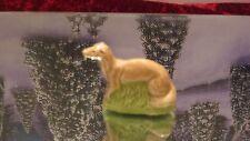 Vintage Wade Whimsies Red Rose Tea Figurine><RARE DOG<><WEASEL><FERRET??