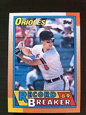 1990 Topps CAL RIPKEN #8 Record Breaker  Baltimore Orioles