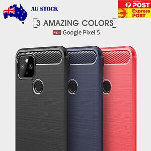 Carbon Fiber For Google Pixel 5 5G Pixel 4 4a Pixel 3 3a 2 1 XL Slim Case Cover