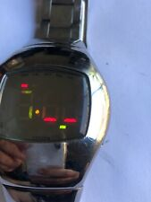 1990's very rare Japanese CITIZEN Independent 1481010 LED digitwal watch