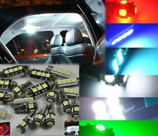 LED LIGHT BULB KIT INTERIOR FOOTWELL BOOT GLOVE BOX puddle For BMW E92 COUPE M3