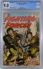 Our Fighting Forces #27 CGC 9.0 1957 Highest Graded Copy