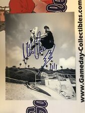 Mike Vallely Skateboard Black Flag Signed Autographed 8x10 W/COA