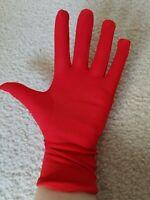 Short Costume Gloves - Red