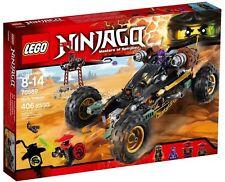 NEUF LEGO NINJAGO 70589-Rock Roader-Master of Spinjitzu-Cole RX, Lil Nelson