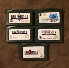 Final Fantasy I II III IV V VI Nintendo Game Boy Advance GBA 1 2 3 4 5 6 ~ LQQK