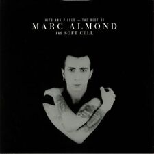 MARC ALMOND HITS AND PIECES: BEST OF MARC ALMOND & SOFT CELL PINK/BLACK 2-LP SET