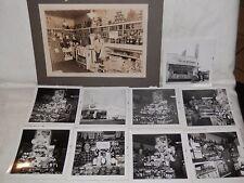 vecchie foto RALPH'S Delicatessen Liquor italo americani emigrati Stati Uniti