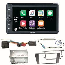 Sony XAV-AX200 Moniceiver USB Bluetooth Einbauset für Skoda Octavia 2 Yeti 5L
