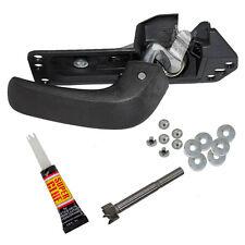 Chevy Silverado GMC Sierra 07-14 Front Rear Inner Door Handle With Repair Kit LH