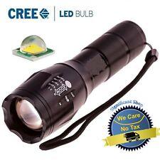 Tactical LED Flashlight G700 X800 ShadowHawk Bright Zoom Torch Military Grade US