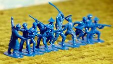 Armies in Plastic Boxer Rebellion 1900 Chinese Boxers 54mm 1/32 Scale blue
