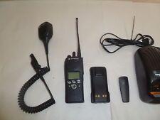 Motorola XTS2500 800 MHz Two Way Radio w Speaker Mic & Charger H46UCF9PW6BN