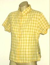 COLORADO S/sYellowCheck100%CottonShirt SizeM