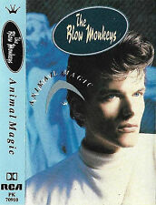 THE BLOW MONKEYS ANIMAL MAGIC CASSETTE ALBUM Pop Rock New Wave Synth-pop Disco