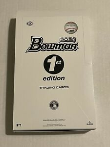 2021 Bowman 1st Edition Hobby Box Packs - Sealed - 10  Cards Per Pack