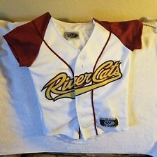 SACRAMENTO RIVERCATS JERSEY - YOUTH SMALL - THROWBACK - OT SPORTS