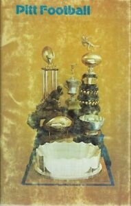 1977 PITT PANTHERS FOOTBALL (Gator Bowl Champs, Coaches # 7) media guide, EX