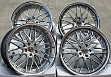 "20"" CRUIZE 190 SP ALLOY WHEELS STAGGERED SILVER DEEP DISH 5X120 20 INCH ALLOYS"