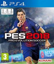Pro Evolution Soccer PES 2018 (Calcio) PS4 Playstation 4 KONAMI