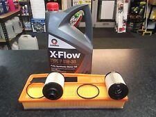 FIAT DOBLO 1.3D 223 263 SERVICE KIT OIL (X2) & AIR FILTERS 5LITRES COMMA XFLOW
