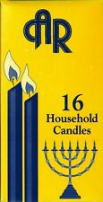 16 Kosher Shabbat Candles, Household candles, Kosher Shomer Shabbos factory
