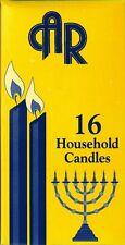 16 Kosher Shabbat Candles, Household candles, Kosher Shomer Shabbos factory