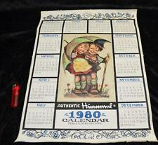 The only time in the world pattern Hummel preliminary design painted calender 1
