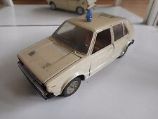 Mebetoys VW Volkswagen Golf 1 Polizei in White on 1:25