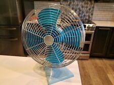 Rare Vintage Oscillating Temp-Master Fan Tulsa,OK    RARE