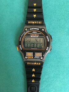 "Vintage Timex Ironman ""8 Lap"" Digital Chronograph Watch from 1993"