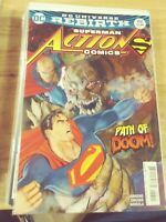 ACTION COMICS # 958 2016 DC UNIVERSE REBIRTH DOOMSDAY LEX  LUTHOR JANIN VARIANT