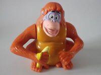 Jouet Toys McDonald Livre de la jungle disney singe  5 x 7 cm mécanisme ok