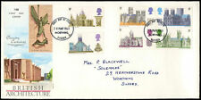 GB FDC 1969 britannici dell' architettura, Worthing Sussex IED #C 29022
