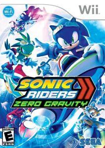 Sonic Riders: Zero Gravity - Nintendo  Wii Game