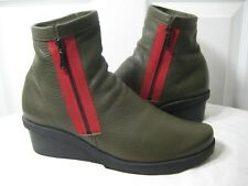 Arche Reina Wedge Ankle Boots Shoes Women's Size 40 / 9 - 9.5