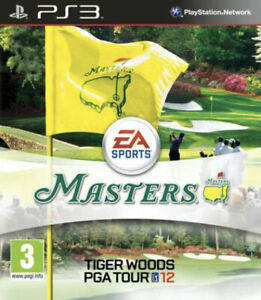 Tiger Woods PGA Tour 12: The Masters Golf PS3 Video Game (Sony PlayStation 3)