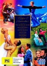 RODGERS And HAMMERSTEIN Collection DVD NEW Sound Of Music+King & I+Oklahoma+..R4