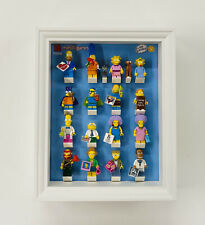 Display Frame for Lego The Simpsons Series 2 minifigures 71009 no figures 28cm