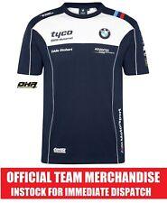 Tyco BMW TAS Racing de BSB/TT Oficial Equipo Camiseta Tee-Genuino NUEVO S1000RR