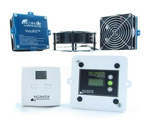IncuKit™ XL for Mid-Size & Cabinet Incubators | All-In-One Thermostat Heater Fan