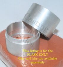 150mm Interlocking Flask - Delft Petrobond Style Casting Clay Sand Rings Silver