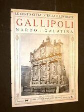 Gallipoli, Nardò e Galatina - Le Cento Città d'Italia illustrate