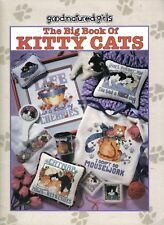 The Big Book of Kitty Cats ~  Cross Stitch, soft cover book ~