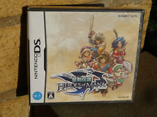 Seiken Densetsu: Heroes of Mana (2007) New Factory Sealed Japan Nintendo DS NDS